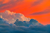 Storm Cloud at Dusk