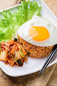 Kimchi fried rice, Korean food