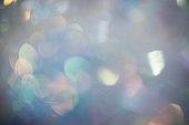 Defocused Shiny Confetti Background