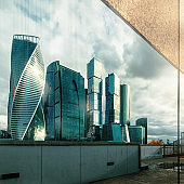 Reflection Moscow International Business Center, Moscow Russia.