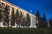 Parliament of Moldova in Chisinau