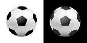 Football Ball icon illustration in realistic style