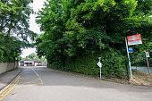 Shoreham Railroad Station in Kent, England