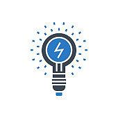 Idea Vector Glyph Icon