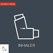 Inhaler Vector Icon