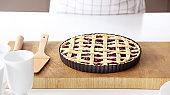 Baking a pie