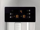 touch screen on fridge