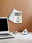 """2021"" reminder note"