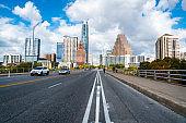 South Congress Bridge Austin Texas Capital View