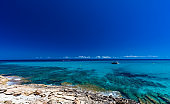 Beautiful sandy beach of Cala Mesquida, Mallorca, Balearic islands, Spain