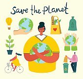 Eco save environment picture.