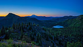 Above Meta Lake At Dawn, East Side of Mount Saint Helens