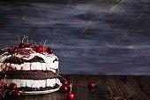 Black Forest Cherry Cake, Schwarzwald Pie Dessert