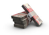 Lira Notes Pile