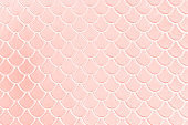 Background Millennial Pink Pale Mermaid Pattern Pastel Texture Abstract Fish Dragon Reptile Dinosaur Scale Snake Skin Pearl Shiny Toned Macro Photography
