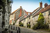 Uphill Street In Shaftesbury, UK