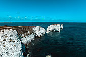 Old Harry White Rock At Jurassic Coast, UK