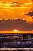 Sunset Seascape Cloudscape