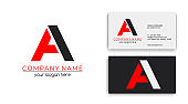 Letter logo or monogram. blank for business card. For your business. Vector sign.