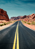 Scenic Road on Valley of Fire State Park.