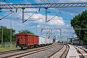 Freight Trains and Railways - Cargo transportation