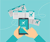 Airline tickets booking online service