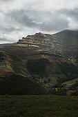 Beautiful mountain landscape in Cantabria, Spain