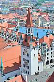 Top-view of Old Munich