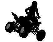 Quadbike race