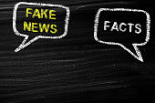Fake News And Facts Concept