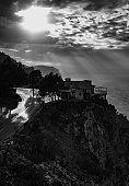 Westcoast of Mallorca at dusk