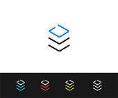 Stack, file Icon. Premium quality graphic design-Editable Stroke