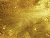 Gold color on paper texture background