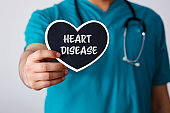 """The word of """"Heart Disease""""  Health care concept"""