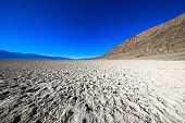 Badwater Salt lake at Death Valley national park, USA