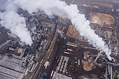 Factory pollutes environment
