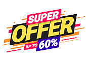 Super offer of special offers.