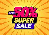 Super sale of special offers.