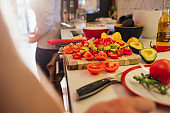 Freshly Sliced Vegetables