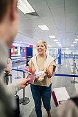 Receiving Travel Tickets