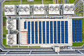 Rooftop solar system in Hong Kong