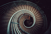 Spiral Staircase in Central, Hong Kong
