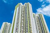 High rise residential building in Sau Mau Ping