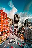 Residential buildings in Kowloon, Hong Kong
