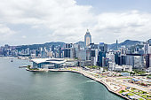Hong Kong Harbour - Convention and Exhibition Centre