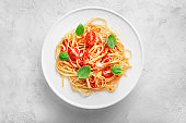 Delicious italian pasta for lunch