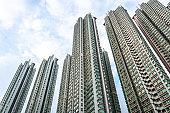 Residential Building in Tai Kok Tsui, Hong Kong