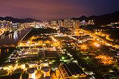 Sewage Treatment Plant, Sha Tin, Hong Kong