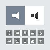 Creative Volume Icon with Bonus Icons