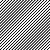Vector diagonal lines pattern. Seamless striped background. Simple endless black and white texture